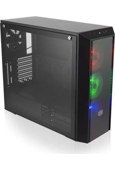 Cooler Master Box Pro 5 700W 80+ 3xRGB Led Fanlı Tempered Glass MidTower Kasa (MCY-B5P2-KWNA70)