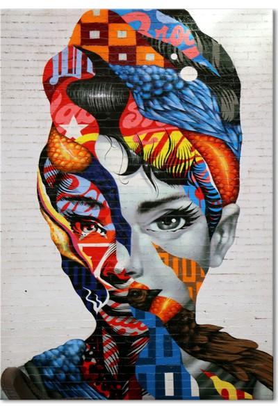 Özverler Women Canvas Tablo Aud-001
