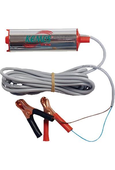 Kemos Rich Krom 24 Volt Mazot ve Sıvı Transfer Pompası