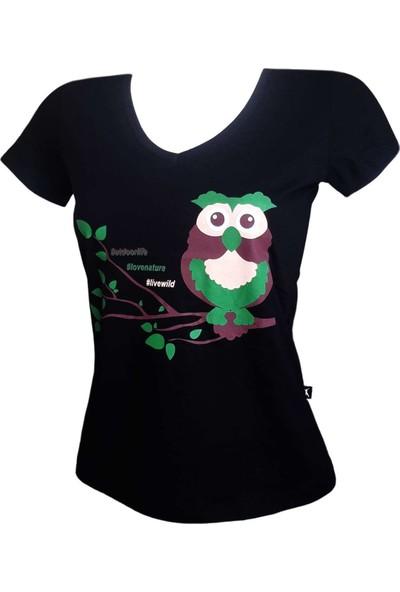 Guntack Miss Owl Kadın T-Shirt