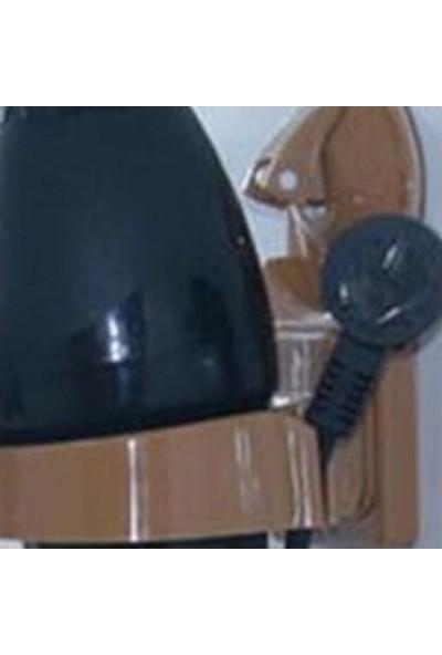 Pratik Şeyler Vantuzlu Fön Makinesi Askısı