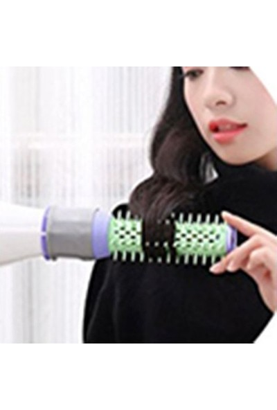 Pratik Şeyler Saç Dalgalandırma Aparatı Fırça Şekilli