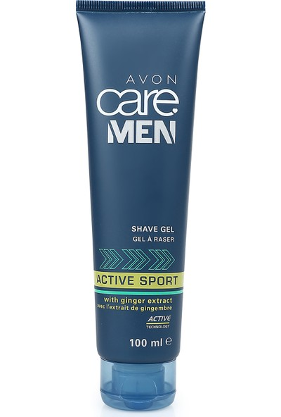 Avon Care Men Active Sport Tıraş Jeli - 100ml