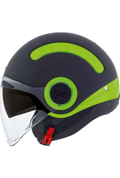 Nexx Sx10 Yeşil Siyah Kask S