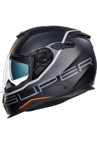 Nexx Sx100 Superspeed Mat Siyah Kask XL