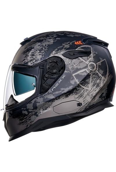 Nexx Sx100 Toxic Mat Siyah Kask M
