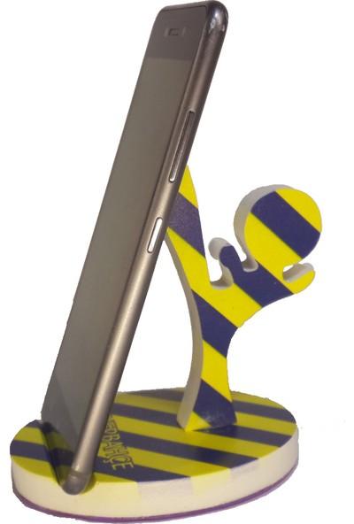 CajuArt Cep Telefonu Standı Fenerbahçe Temalı Masa Telefon Tutucu