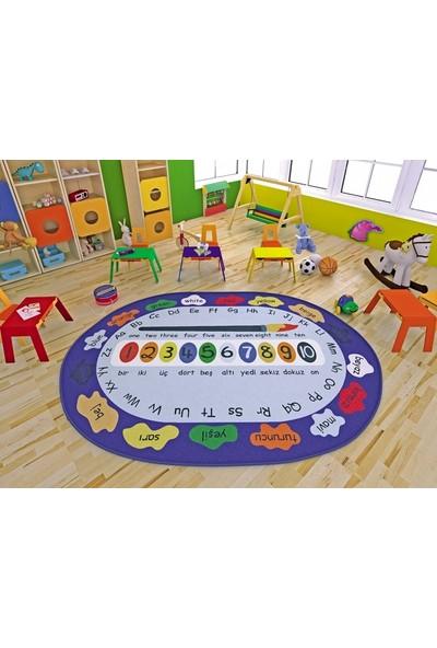 Confetti Paint 200X290 Çocuk Halısı Anaokulu Kreş Halısı