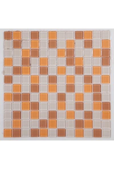Dizayncam - Brest Kuvars - Cam Mozaik