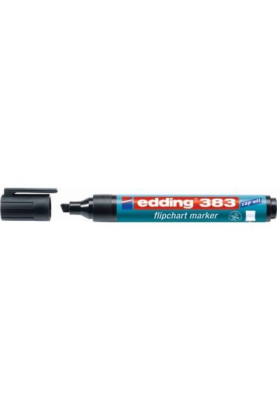 Edding Flipchart Markör Kesik Uç Siyah 1-5 Mm