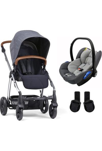 Mamas Papas Sola 2 Travel Sistem Bebek Arabası Navy Marl
