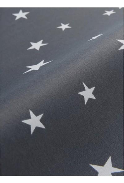 Belle Cose Yıldız Desenli Blackout Çocuk Odası Fon Perde 140 x 200 cm