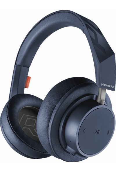 Plantronics BackBeat GO 600 Kablosuz + Kablolu Kulaklık LACİVERT (Çift Telefon Desteği)
