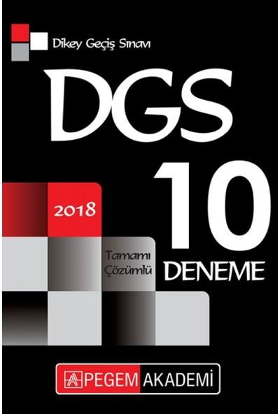 Pegem Akademi Yayıncılık DGS Tamamı Çözümlü 10 Deneme