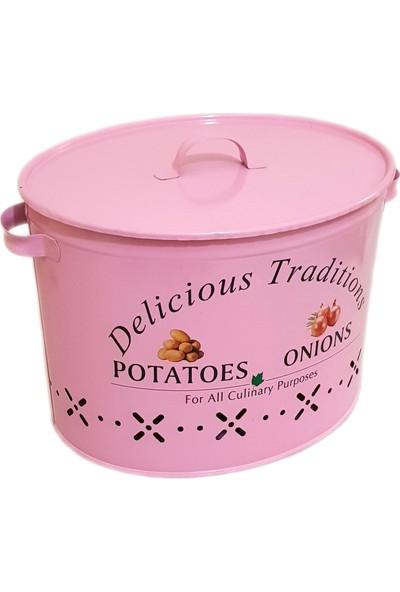 Bhç İki Bölmeli Patates Soğan Saklama Kabı