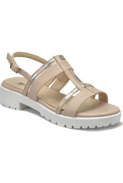 Butigo 18S-050 Bej Kadın Ayakkabı