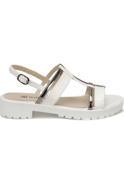 Butigo 18S-050 Beyaz Kadın Ayakkabı