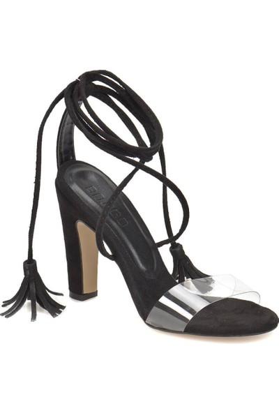 Butigo Afro 85Z Siyah Kadın Sandalet