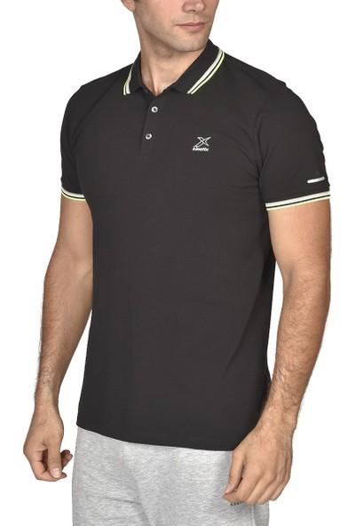 Kinetix Brandy Polo T-Shirt Siyah Erkek T-Shirt