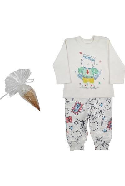 Baby Corner Super Hero 3'lü Pijama Seti