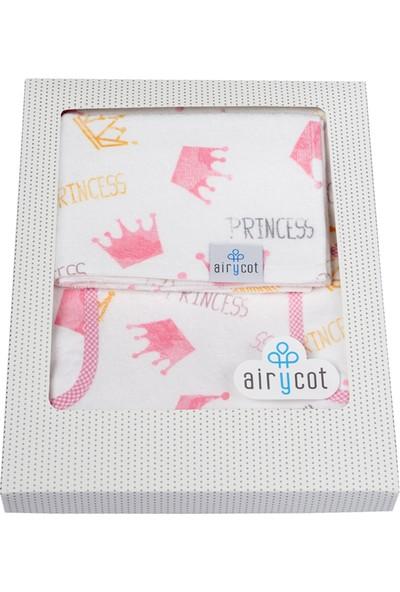 Airycot Çocuk Panço Havlu Prenses