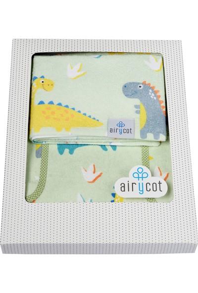 Airycot Çocuk Panço Havlu Dino