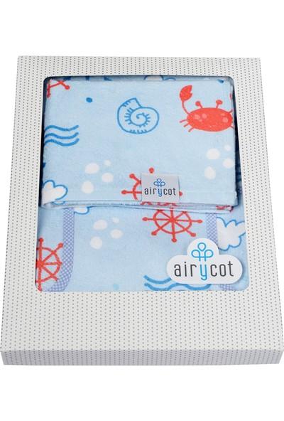 Airycot Çocuk Havlu Panço Yengeç