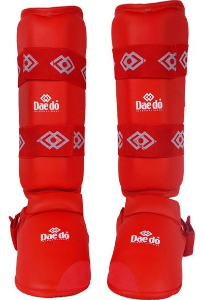 Daedo Karate Kaval-Ayaküstü Koruyucu Kırmızı