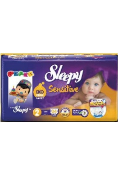 Sleepy Sensitive Ekominik Paket 2 no. 34lü 3-6 Kg
