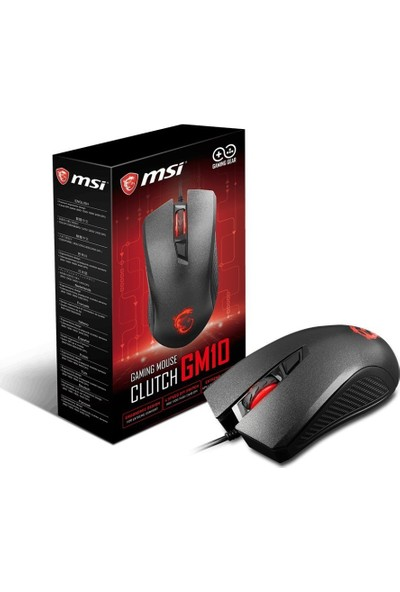 MSI Clutch GM10 Oyuncu Mouse