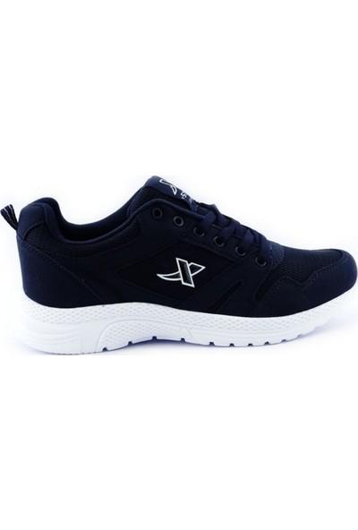 Step Marka Büyük Numara Erkek Spor Ayakkabı Hafif Taban K020 Lacivert