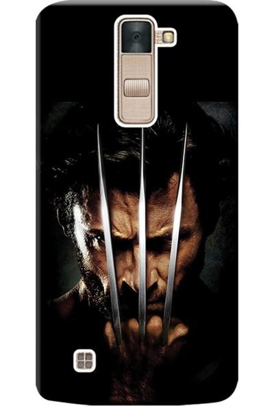 Kılıf Merkezi LG Stylus 2 Kılıf K520 Silikon Baskılı Wolverine STK:610