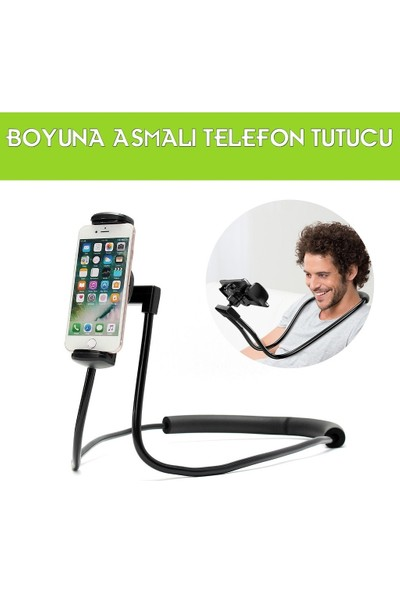 Sunix Boyun Askılı Cep Telefonu Tutucu Ergonomik Kullanım
