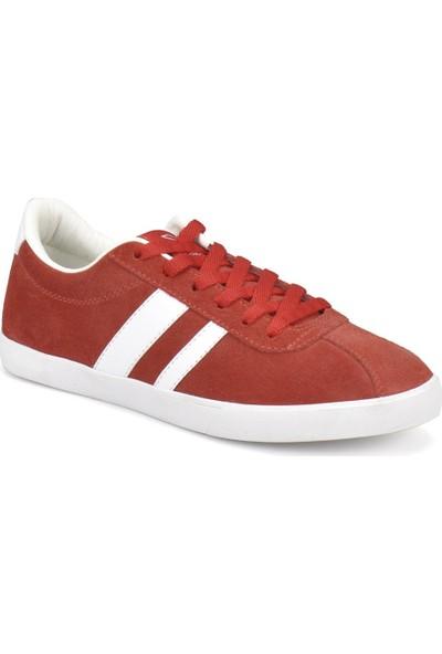 Kinetix Tale L W Kırmızı Kadın Deri Sneaker