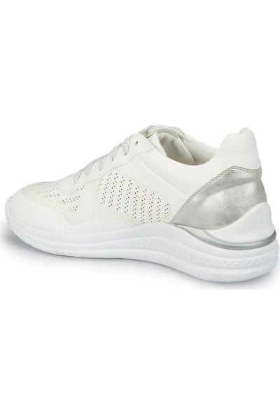Lumberjack Mary Beyaz Kadın Sneaker