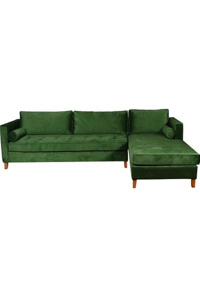 3A Mobilya Emerald Modern L Kanepe