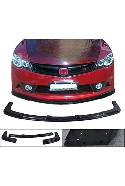 Honda Civic Fd6 2006-2012 Mugen RR Ön Tampon Altı Lip (Plastik)