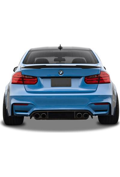 BMW 3 Serisi F30 2012 Sonrası M4 Style Spoiler (Fiber)