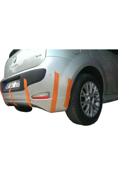 Fiat Punto EVO Arka Tampon Eki - Difüzör (Plastik)