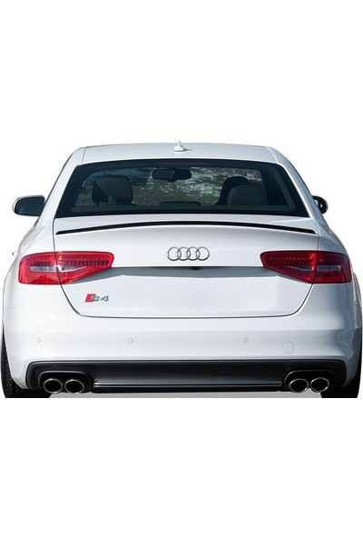 Audi A4 B8 2008 - 2016 S Line Spoiler (Fiber)