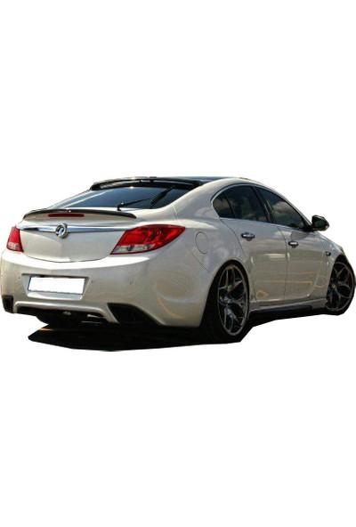 Opel İnsignia 2009 - 2013 Makyajsız Cam Üstü Spoiler (Fiber)