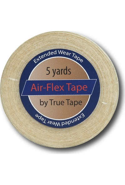 "True Tape Protez Saç Bandı Delikli Super Tape Air-Flex 3/4"" x 5-Yard Roll 1 Adet"
