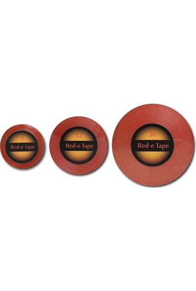 "True Tape Protez Saç Bandı Super Tape RED-E 1"" X 3 Yard (2.5CM x 2.74M) 1 Adet"
