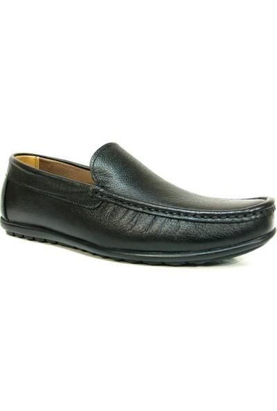 Nstep Lament Siyah Bağcıksız Casual Erkek Ayakkabı