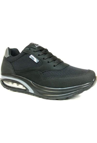 Kinetix Aneta Siyah Bağcıklı Air Taban Spor Ayakkabı