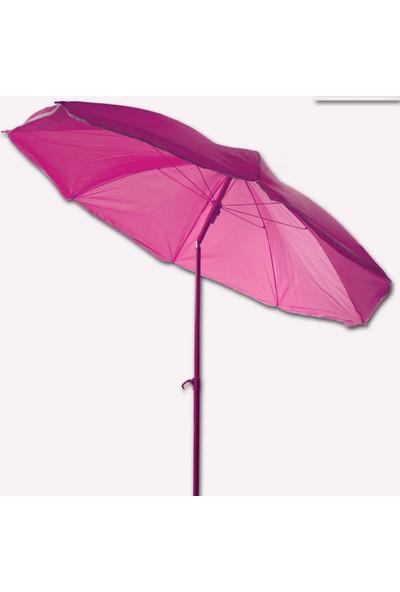 Bidesenal Bahçe Balkon Şemsiyesi Eğimli 2 Farklı Kullanım 180 Cm