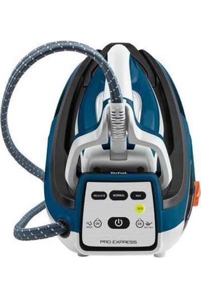 Tefal GV7850 Pro 2400 Watt Express Buhar Kazanlı Ütü Mavi - Beyaz - 1830006573
