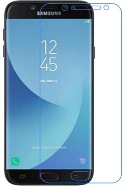 Microcase Samsung J2 Pro 2018 Tempered Glass Cam Ekran Koruyucu