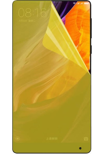 Microcase Xiaomi Mi Mix 2 Full Kaplama Ekran Koruma TPU Soft Film