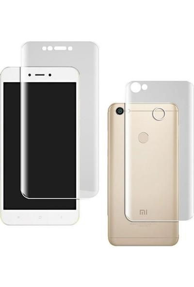 Microcase Xiaomi Redmi Note 5A Prime Full Ön Arka Kaplama TPU Soft Koruma Film